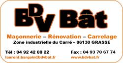 Rénovation 06, Maçonnerie Grasse | Entreprise générale BDV BAT